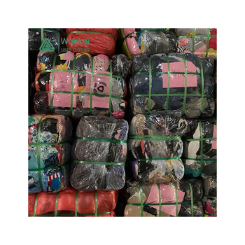 2020 Hot Sale 100Kg Per Bale Colourful Summer Second Hand Clothing, Best Sell Bales Used Kids Clothes