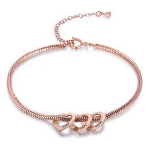Персонализированные браслеты из нержавеющей стали с сердечками, очаровательные браслеты для женщин, на заказ, с гравировкой семьи, именные ...(Китай)