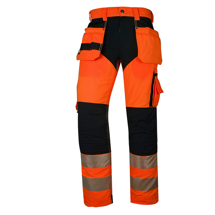 Custom Hi Viz Reflective Tapes yellow Trousers Kneepad men High Visibility safety work Pants - KingCare | KingCare.net