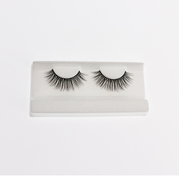 Best Selling 3D Faux Mink Eyelashes Natural False Eyelash Lashes Synthetic Creat Own Brand