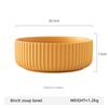8inch yellow soup bowl