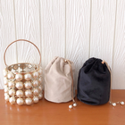 Evening Handbag Party Handba Hot Selling Pearl Basket Evening Clutch Women's Luxury Hollow-out Bead Alloy Metal Handbag Women's Fashion Dinner Party Handba