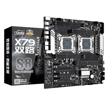 jingsha high cost-effective multi cpu motherboard integrated NVME M.2 slot boot OS in an instant