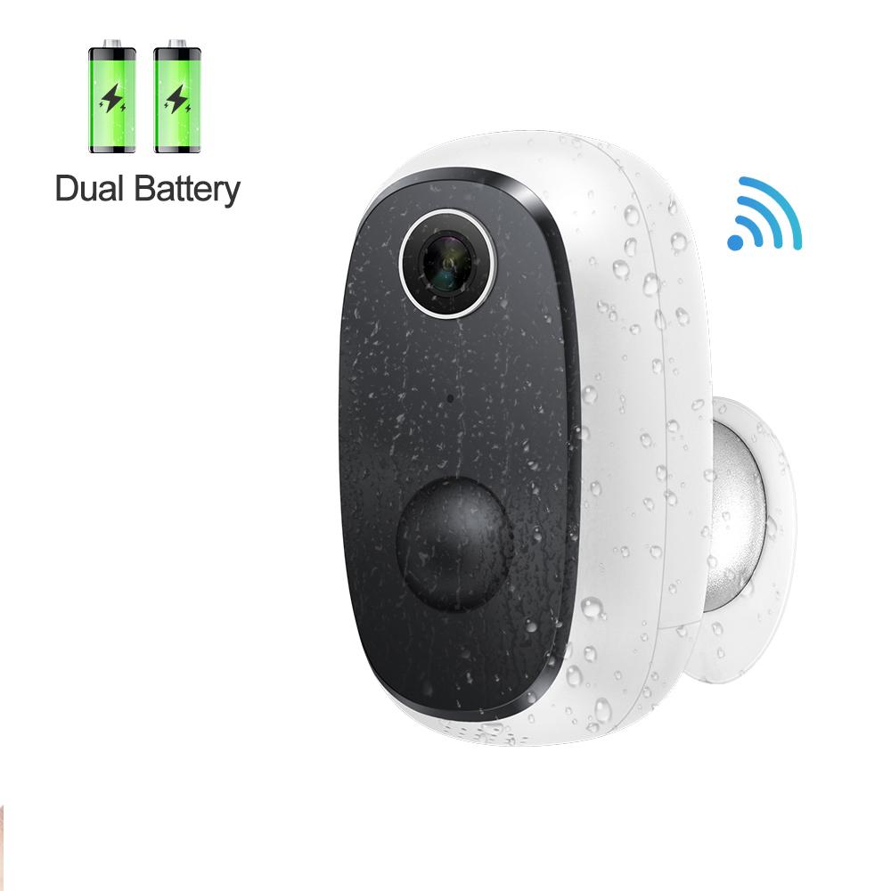 Беспроводная Ip-камера видеонаблюдения с аккумулятором, 1080P
