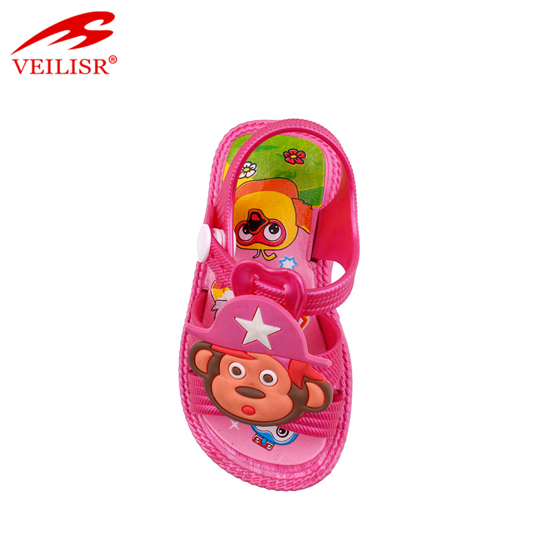Летние детские сандалии из ПВХ для прогулок на открытом воздухе, детские сандалии