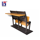 School Desk And Chair School Chair And Desk University School Classroom Folding Wooden Student Desk And Chair