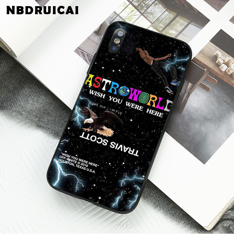 Nbdruicai Travis Scott Astroworld Tour Soft Silicone Phone Case Cover For Iphone 11 Pro Xs Max 8 7 6 6s Plus X 5 5s Se Xr Case Phone Case Covers Aliexpress