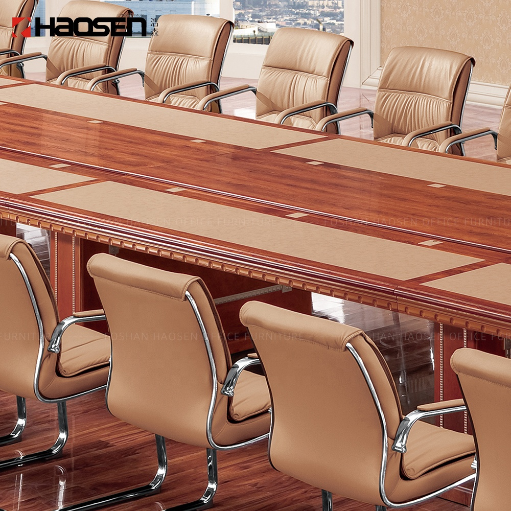 Rolls 520 Factory supplies luxury walnut custom commercial funky office conference tables meeting table desk