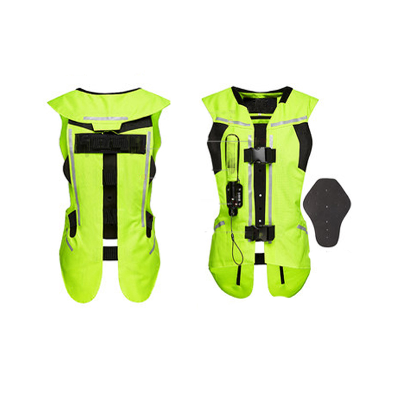 2021 New style Reflective Motorcycle Airbag Vest Advanced Air System Motorcycle Airbag Vest Airbag Jacket