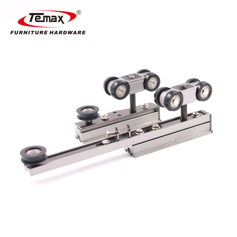 2 link door soft close sliding door rollers for wooden or Aluminium frame door