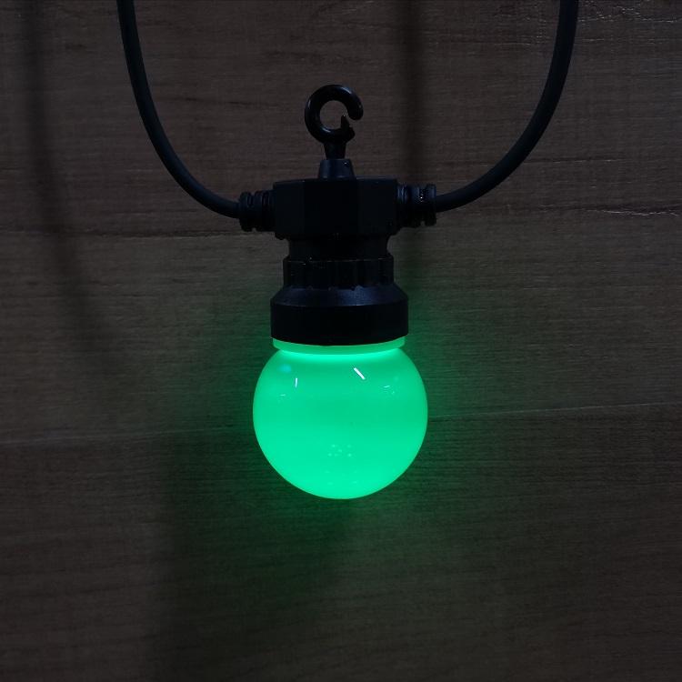 solar waterproof LED string light Outdoor Warm White  Lights Garland G50 Bulbs  Patio Wedding Christmas Decoration Lighting