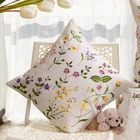 Design Covers Chair Floral Embroidery Design Throw Pillow Covers Decorative Sofa Various Chair Cushion Covers