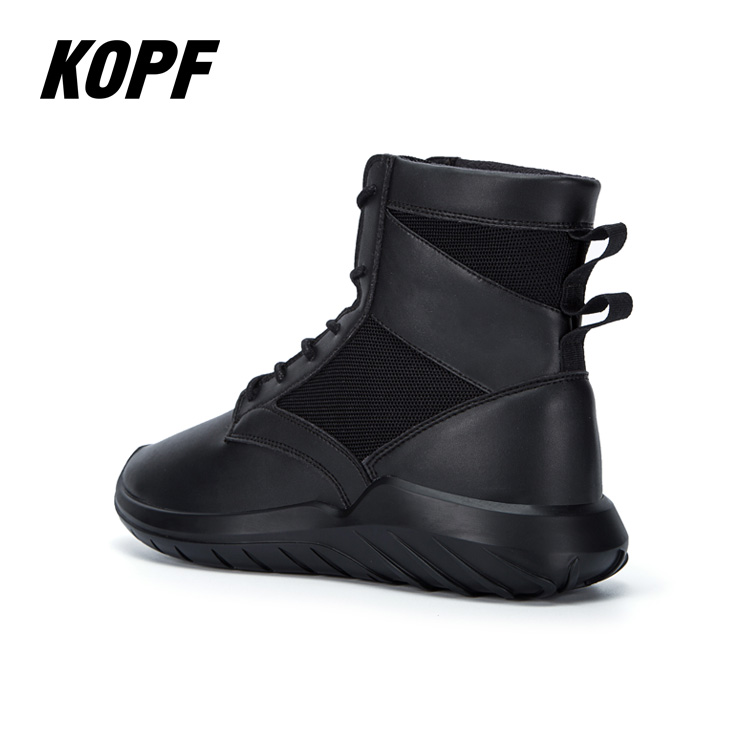 2021 Brand new shoes high-top boots Black  Tatical Boots fashion man shoes combat boots