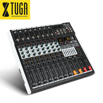 china high quality live musical sound usb dj 8 channel digital audio mixer with karaoke mixing interface 99 dsp console