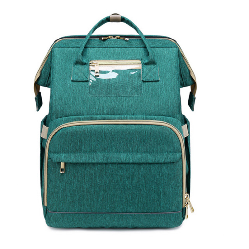 DB1 OEM/ODM wickeltasche bolsa de panales sac a langer Backpack Mommy Baby Stroller Sleeping Caddy Carrier Expandable Diaper Bag