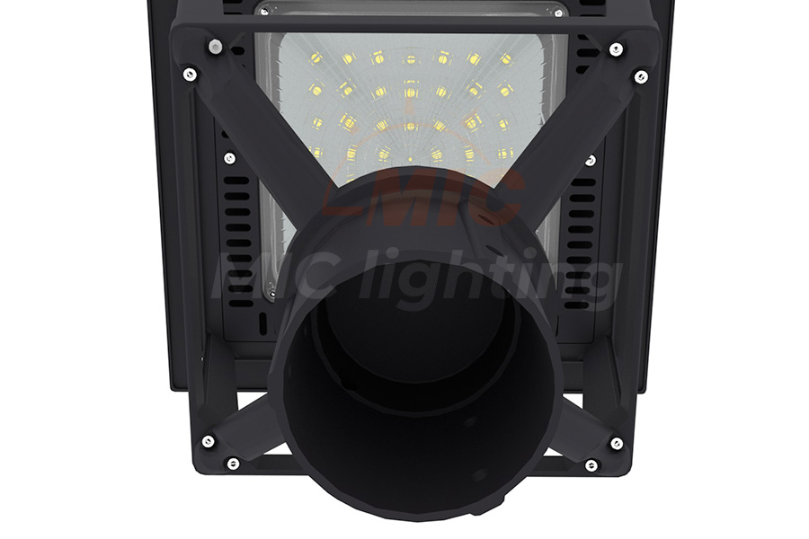 Round Pole Outside Outdoor Out Door Classical type 50w 75w 100w 120w Lights Led Post Top Spot Light Garden