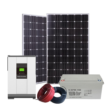 The best-selling green solar energy has 60 batteries. Available sulfuric acid 3-phase 400w household solar system