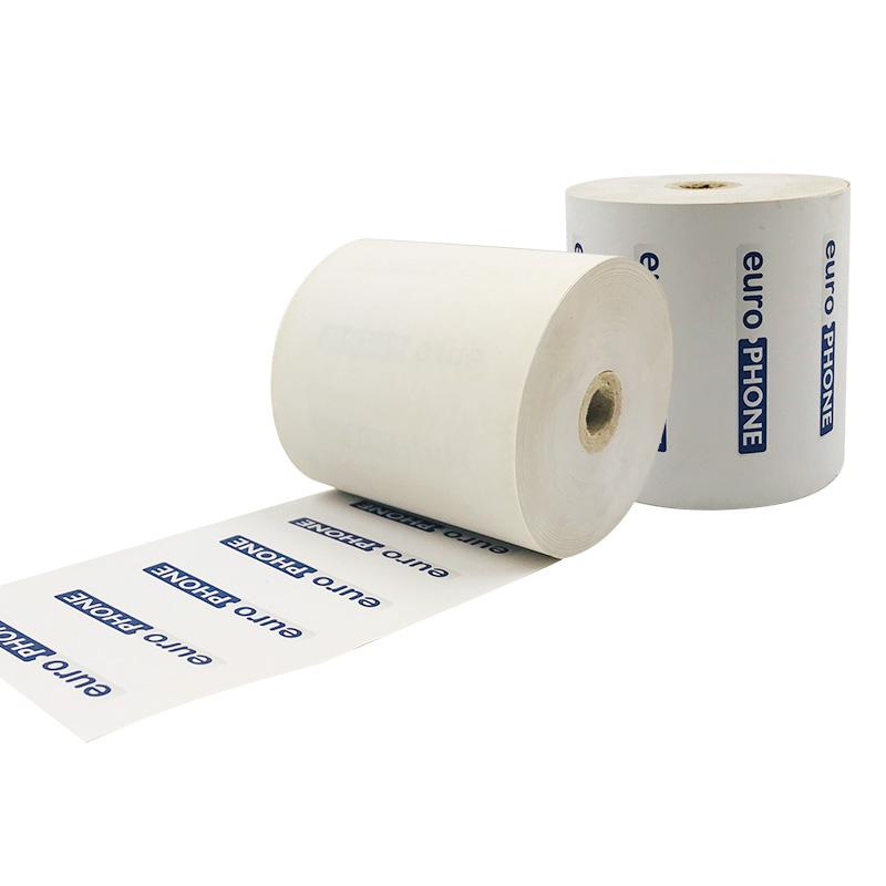 50 рулонов в коробке, низкая цена, не содержит Бисфенол А, 80*80 мм, пустые термобумажные рулоны
