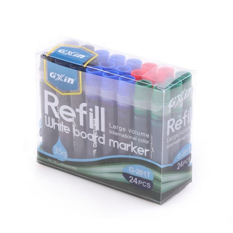 Gxin нетоксичные чернила для заправки, сухой стираемый многоразовый набор маркеров для белой доски