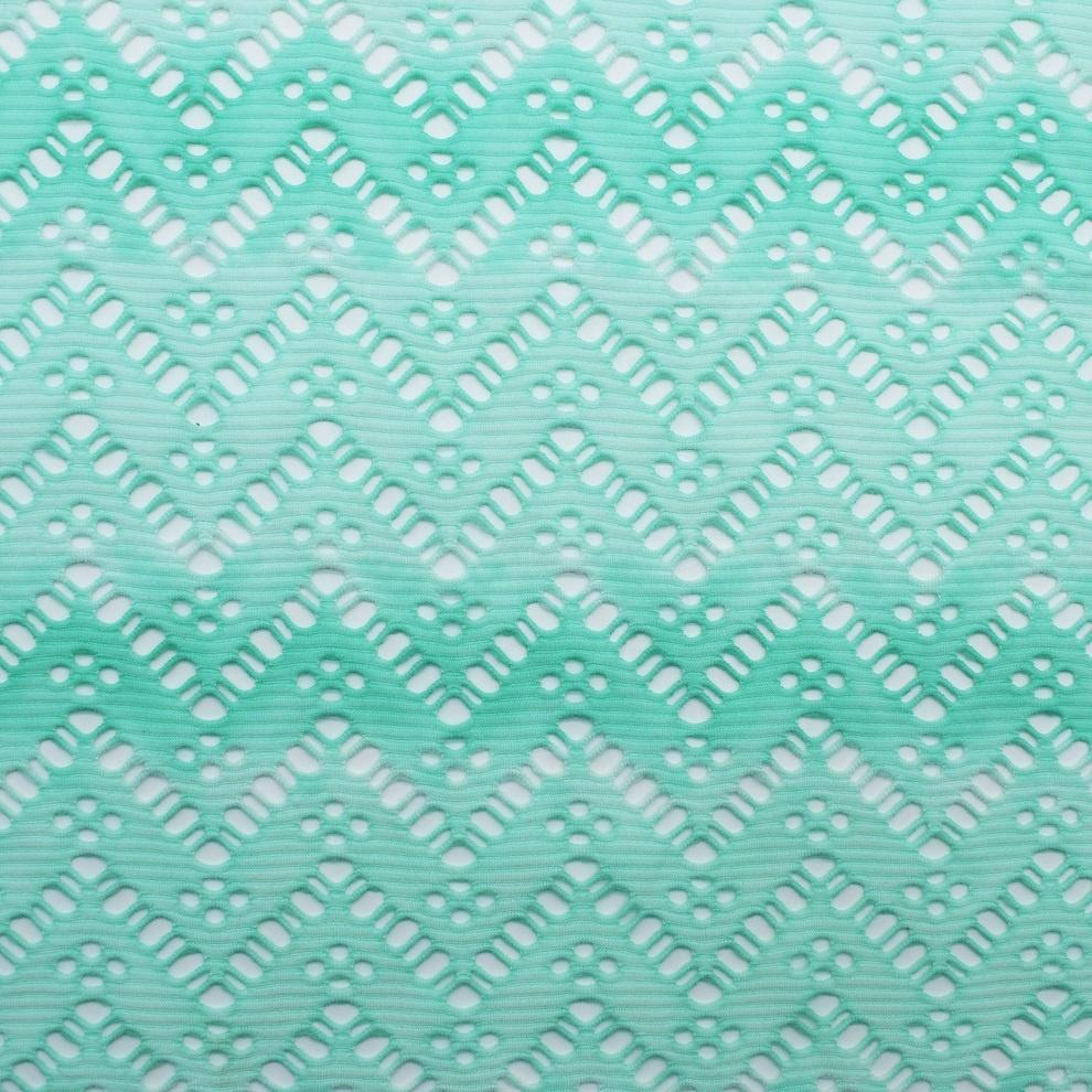 polyester fabric mesh jacquard for swimwear bikini elastic textile customize color manufacture 2020