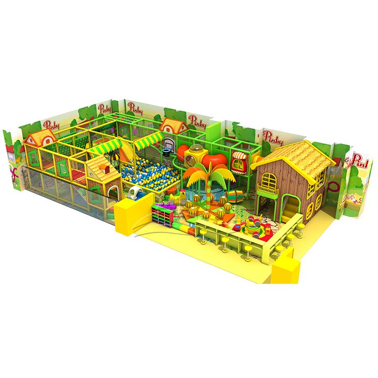 Children commercial kids indoor playground equipment for Amusement center daycare center