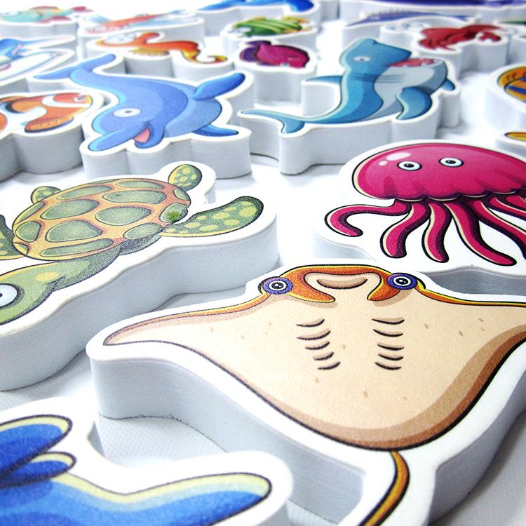 ODM образовательные EVA пены индивидуальной формы дешевые образовательные игрушки для детей eva детская игрушка для ванной