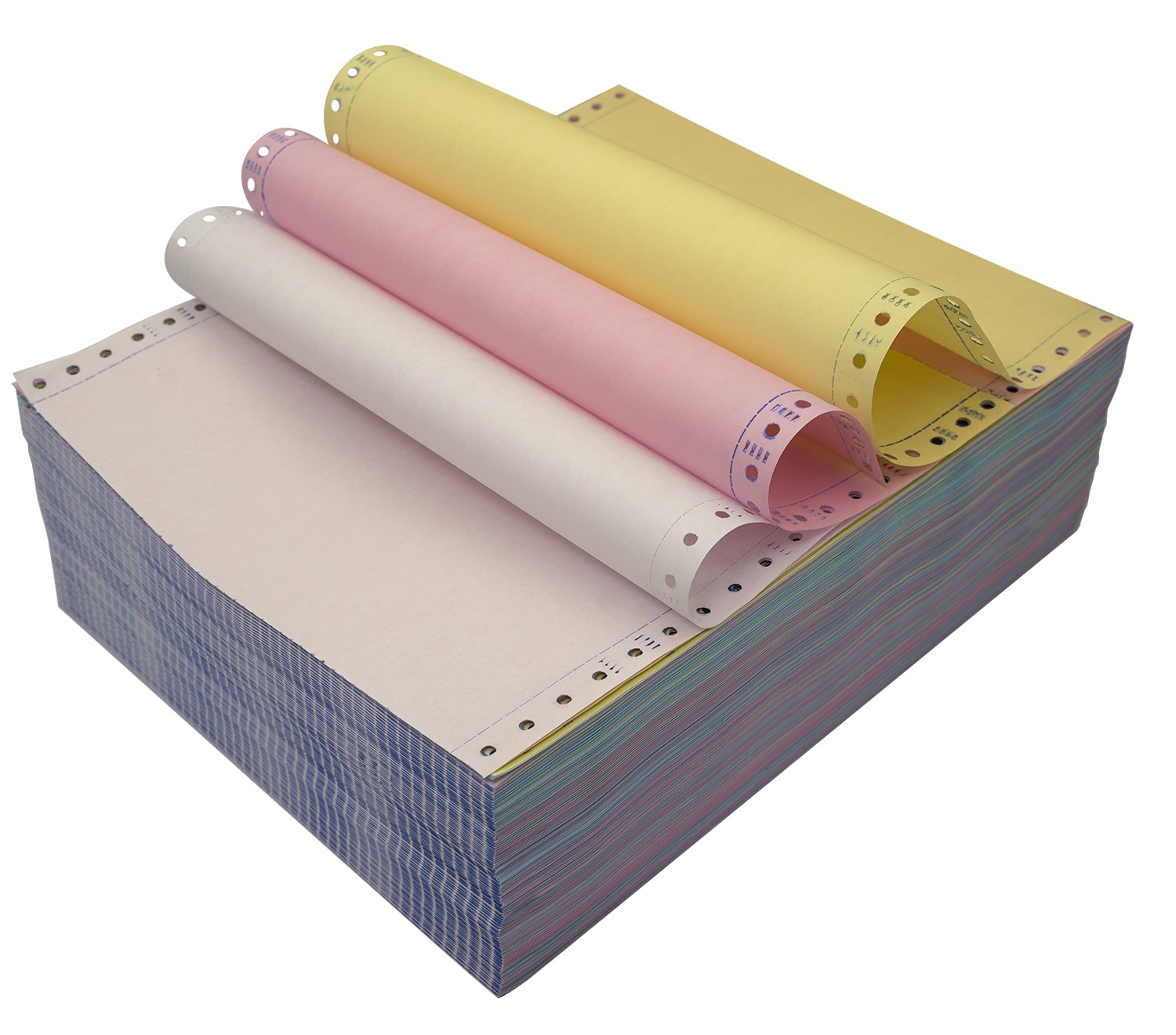 Premium Quality 3plys Carbonless Computer Paper NCR Paper Form Copies for Invoice Printing