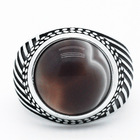 Rings Men Ring Ready To Ship Trendy 925 Sterling Silver Vintage Rings Men Ring