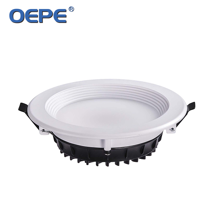 Led Down Light Aluminum Housing Warranty 2 Years 170mm Cut Out Led Downlight SMD 18W Recessed Led Ceiling Downlight From OEPE
