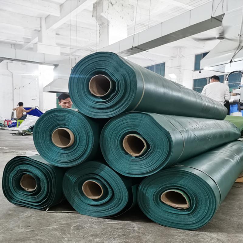 New high quality waterproof pvc coated tarpaulincover fabric plastic tarpaulin Truck CoverPe Coated