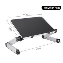 Регулируемая подставка для ноутбука, Алюминиевая Подставка для ноутбука, стоячий столик для Macbook Air, держатель для ноутбука, подставка для с...(Китай)