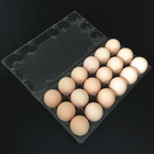 Pvc Egg Customized Pvc 12 Cell Disposable Blister Plastic Clamshell Egg Packaging Tray/box