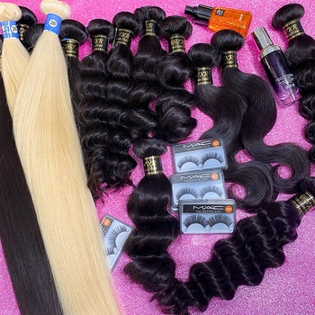 KBL Wholesale double drawn human bundles unprocessed cuticle aligned raw virgin indian hair vendor from india, raw indian hair
