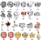 Wholesale Sterling Silver Silver Factory Wholesale 925 Sterling Silver Charm Fit For Pandora Bracelets High Quality Charms Accessories For Jewelry