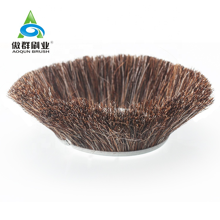 Rectangle and Oval Shape Strip Brush Sealing Strip For Vacuum Cleaners Dusting Brush Horse Hair Insert