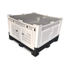 large warehouse plastic storage bin used industrial plastic containers for sale