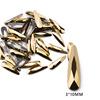 3# 3*10mm Drop Gold