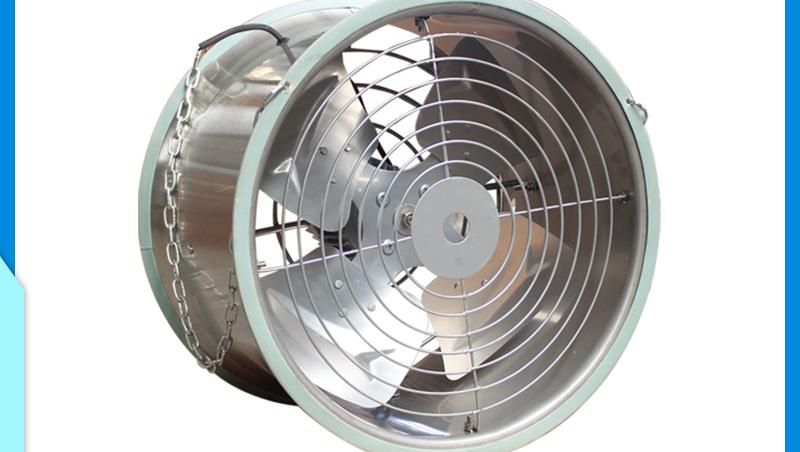 عالية الكفاءة الصناعية الحرارة مراوح توربينات