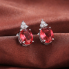 Rouge + Argent Plated-E548