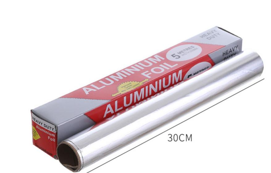 Бытовая Алюминиевая фольга для фармацевтической упаковки, рулон алюминиевой фольги для пищевых продуктов