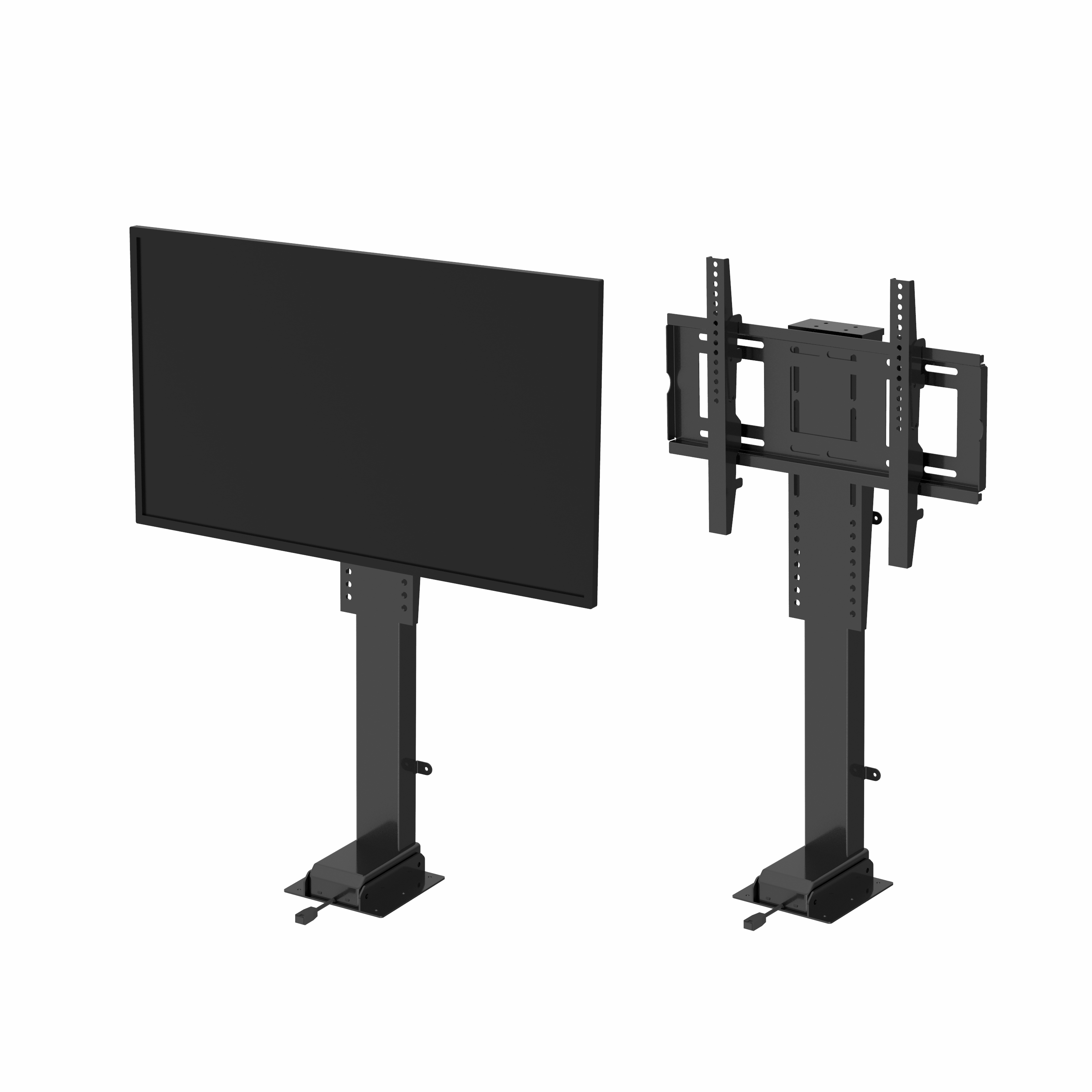 Electric Height Adjustable Remote Control Drop Down TV Lift System