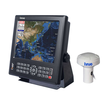 XINUO 12.1 Inch Marine AIS HM-5912N Support C-Map Chart Navigation & GPS Chart plotter Combine with AIS Transponder Class B
