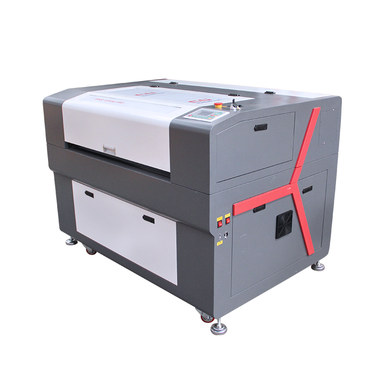 High precision 6090 9060 1390 auto focus laser head glass cup wine bottle wood acrylic sheet laser engraving machine with rotary
