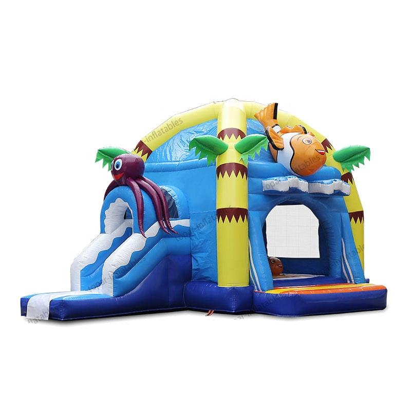 Новинка 2021, надувной батут, комбинация замка, детская игровая площадка, надувной замок, горка