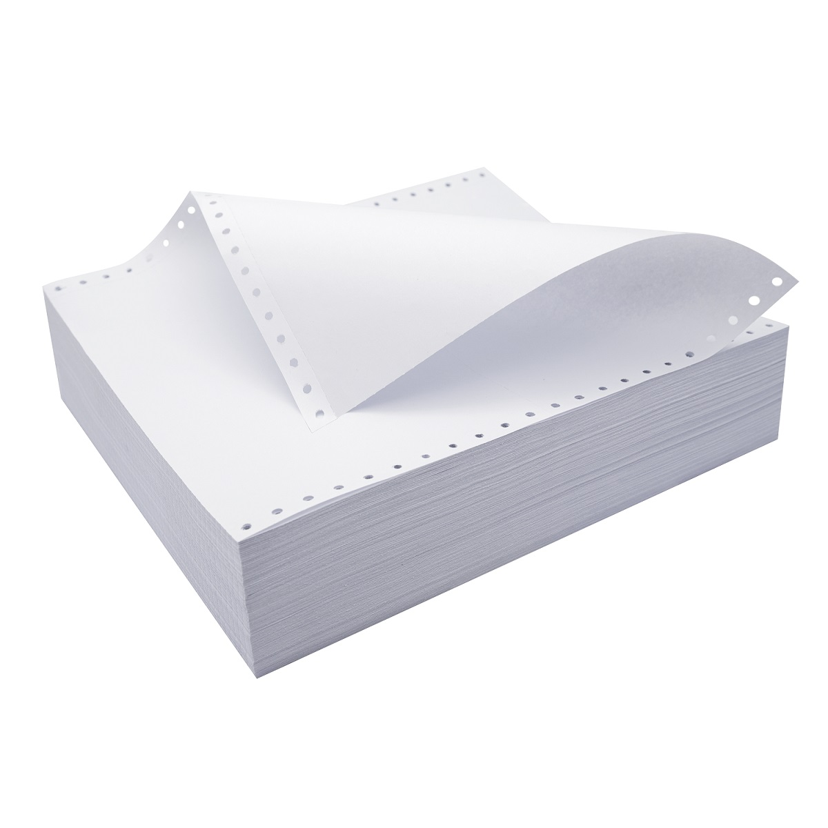 Эксклюзивный для Филиппины Все Белый 3 слоя непрерывная подача cамокопирующая бумага компьютера NCR бумага форма 241*280, 9,5*11
