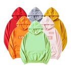 Shirts Hoodies Unisex Oversized Tie Dye Embroidered Blank Plain French Terry Men's Sweat Shirts Custom Hoodie