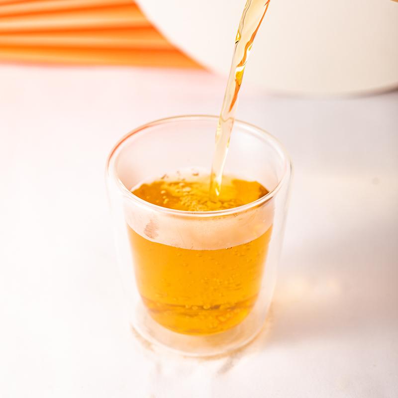 Fragrance Organic Leaves Aluminium Tin Packaging Set Orange Peel White Tea - 4uTea | 4uTea.com