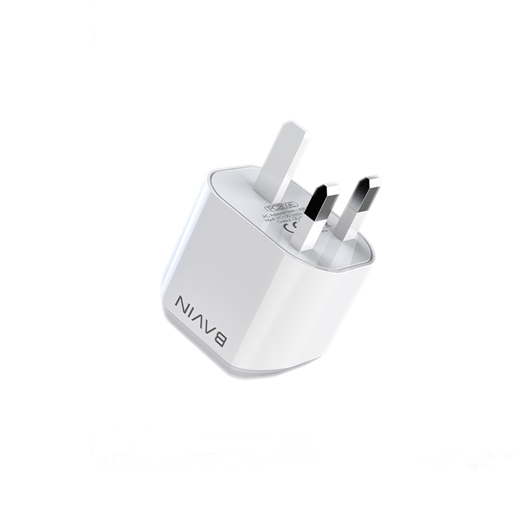 QC 3.0 BAVIN 18W 3Amp UK Plug USB Wall Charger For Mobile Phone Latop <span style=