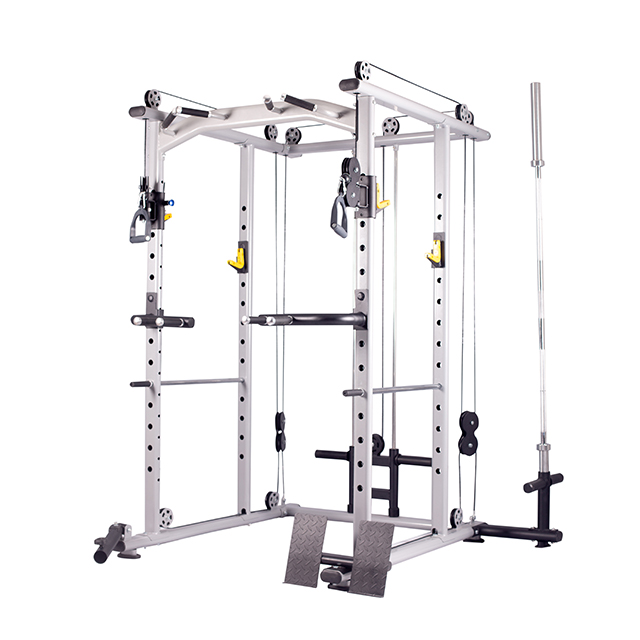 gym equipment customized multifunction power rack power cage cross fit machine