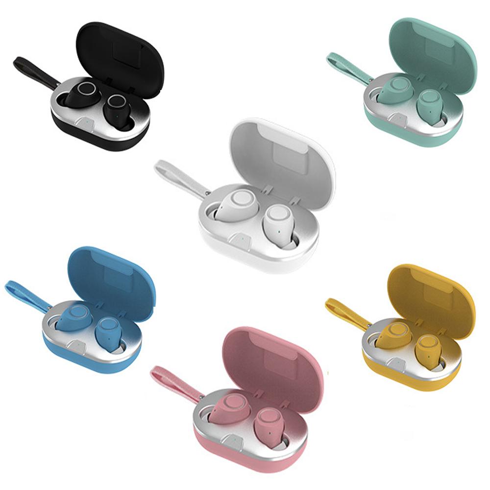 M8 colorful New wireless earphone headphone tws earbuds with logo customized - idealBuds Earphone | idealBuds.net